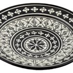 Ceramic Plates Handmade Moroccan Plate Serving 12 Inches Decorative Bowl