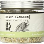 Henry Langdon Sea Salt Rub with Rosemary