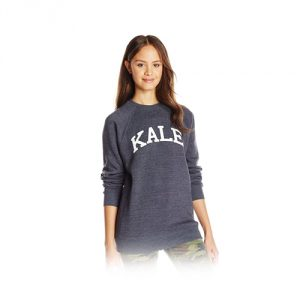 Sub_Urban RIOT Junior's Kale Unisex Crew-Neck Graphic Sweatshirt