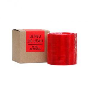 Le Feu de L'Eau Candle (Red)