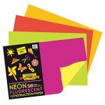 Idea 2: Neon Construction Paper