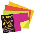 Idea 2: Neon Construction Paper