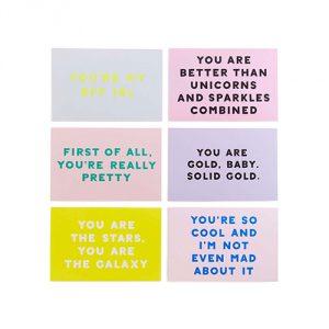 Ban.do-Compliment-Postcard-Book