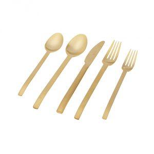 Brushed-Gold-Flatware