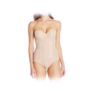 Heavenly Shapewear Dot Bodysuit