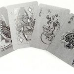 Kikkerland Playing Cards, Silver