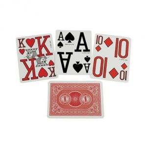Marinoff Low Vision Poker Size Playing Cards
