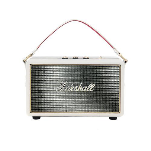 Marshall Bluetooth Speaker Portable: Hers: Marshall Kilburn Cream Portable Bluetooth Speaker
