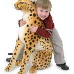 Large Plush Cheetah