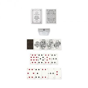 White Misc. Goods Co. Playing Cards Deck