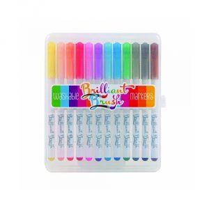 Brilliant-Brush-Markers