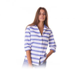 CAMIXA-Oxford-Cotton-Striped-Long-Sleeve-Shirt