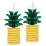 Pineapple Paper Lanterns