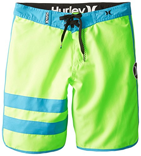 Hurley Big Boys' Block Party Boardshort - Volt