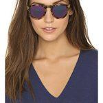 Illesteva Leonard Mirrored Sunglasses - Tortoise/Pink