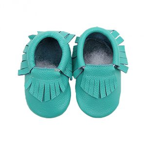 Infant Mocassin - Turquoise