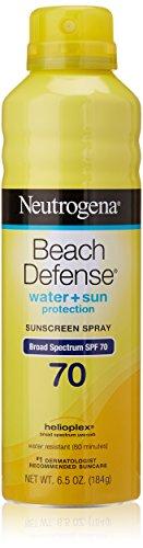 Neutrogena SPF 70 Beach Defense Sunscreen Spray
