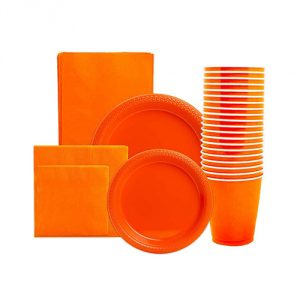 Orange-Party-Supply-Pack