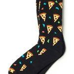 Pizza Party Black Socks