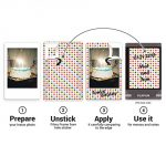 Polaroid Film Sticker Set