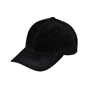 Suede-Leather-Baseball-Cap