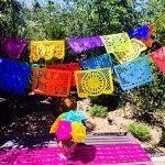 Plastic Papel Picado Banner 16ft