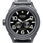 Nixon October Tide Quartz Metal Watch