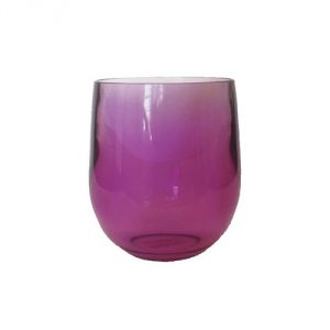 Plastic-Purple-Drinking-Glass-Set