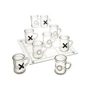 Tic-Tac-Toe-Drinking-Shot-Glass-Set