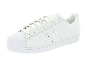 adidas Originals Men's Superstar Foundation Casual Sneaker, White/Running White/White, 10.5 M US