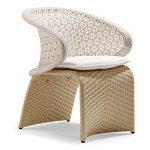 Exotica Dining Chair - White/Grey