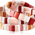 Baja East Bracelet Set - Blush