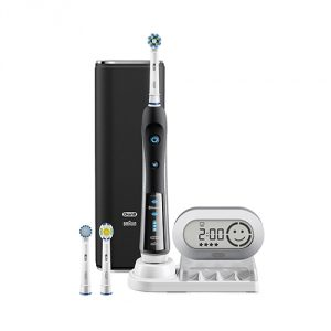 Black Electronic Rechargeable Toothbrush