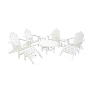 Eco-friendly Conversation Set - White
