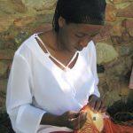 Zulu African Wire Straight Sides Bowl