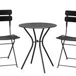 Bistro Dining Set - Black