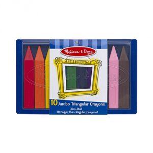 Melissa-Doug-Jumbo-Triangular-Crayons