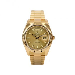 Rolex Day-Date II President Yellow Gold Watch
