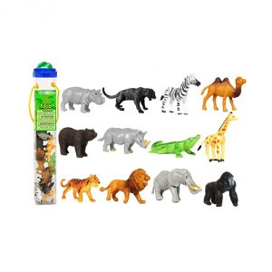 Safari of 12 Great Jungle Friends