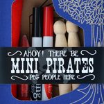 Seedling Mini Pirate Peg People