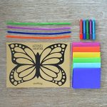 Seedling Make Your Own Butterfly Sun Catcher