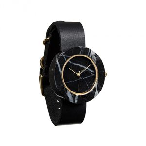 Analog Watch Co. Black Marble Watch