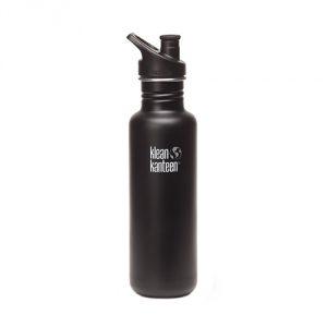 Black-Klean-Kanteen-Stainless-Steel-Bottle