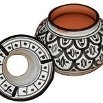 Moroccan Handmade Ceramic Ashtray - Black