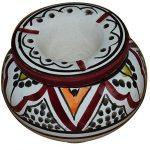 Moroccan Handmade Ceramic Ashtrays