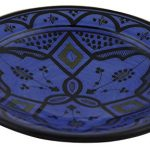 Moroccan Handmade Ceramic Appetizer Plate - Blue