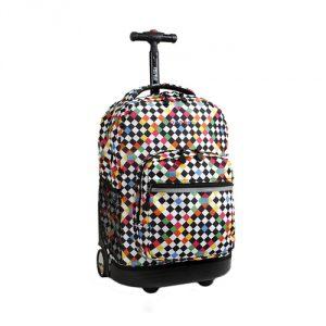 Checkers-J-World-New-York-Sunrise-Rolling-Backpack