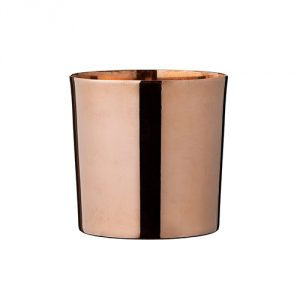 Copper Electroplated Flower Pot
