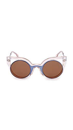 Sunglasses Cutout  fendi round cutout sunglasses blue pink love the edit