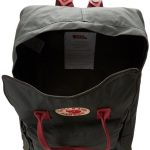 Fjallraven Kanken Daypack, Forest Green/Ox Red